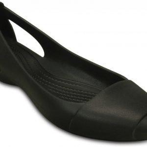 Crocs Matalat Naisille Musta Sienna