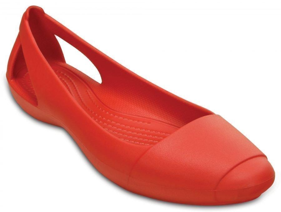 Crocs Matalat Naisille Punainen Sienna