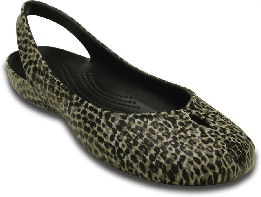 Crocs Matalat Naisille Ruskea Olivia II Leopard Print