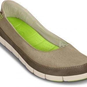 Crocs Matalat Naisille Ruskea Stretch Sole