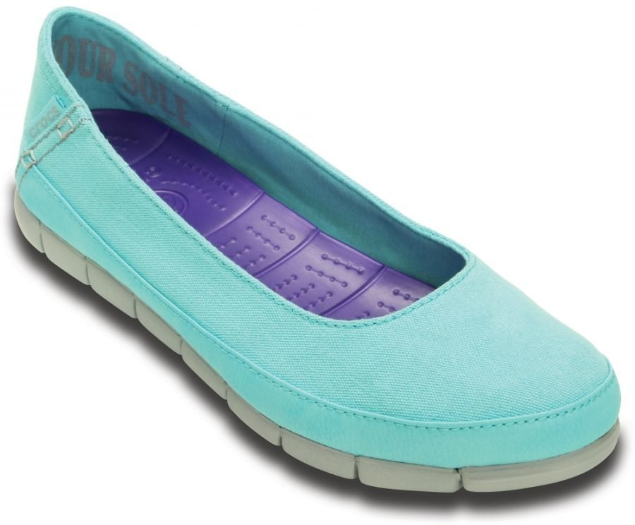 Crocs Matalat Naisille Sininen Stretch Sole