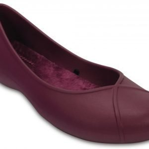 Crocs Matalat Naisille Violetti Olivia II Lined