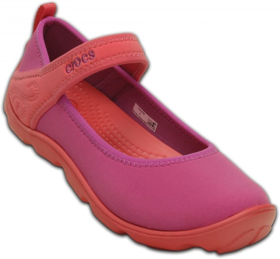 Crocs Matalat Tytöille Violetti Duet Busy Day Mary Jane