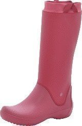 Crocs RainFloe Boot W Pomegranate/Pomegranate