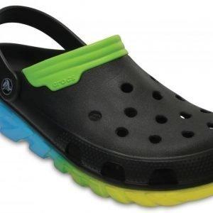 Crocs Sandaalit Black/Green Duet Max Ombre s
