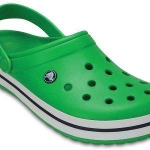 Crocs Sandaalit Grass Green / White Crocband