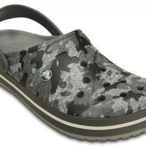Crocs Sandaalit Harmaa Crocband Camo