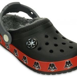 Crocs Sandaalit Lapset Musta Crocband Darth Vader Fuzz Lined