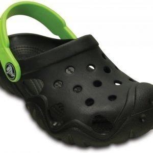 Crocs Sandaalit Lapset Musta Swiftwater