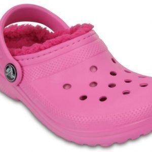 Crocs Sandaalit Lapset Pinkki Classic Fuzz Lined