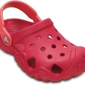 Crocs Sandaalit Lapset Punainen Swiftwater