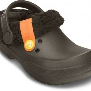 Crocs Sandaalit Lapset Ruskea Blitzen II Fuzz Lined