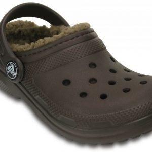 Crocs Sandaalit Lapset Ruskea Classic Fuzz Lined
