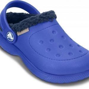 Crocs Sandaalit Lapset Sininen ColorLite Fuzz Lined