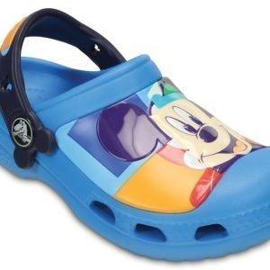 Crocs Sandaalit Lapset Sininen Creative Mickey Colorblock
