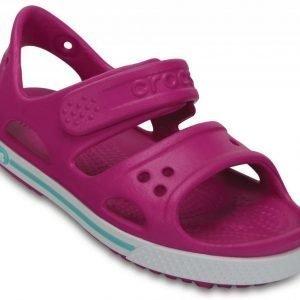 Crocs Sandaalit Lapset Vibrant Violet/White Crocband II