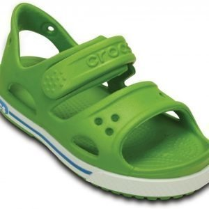 Crocs Sandaalit WhiteVolt Green Crocband II