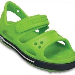 Crocs Sandaalit Lapset Volt Green/Navy Crocband II