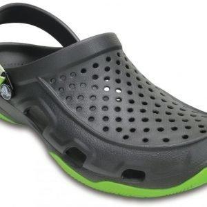 Crocs Sandaalit Miehille Harmaa Swiftwater Deck