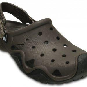 Crocs Sandaalit Miehille Ruskea Swiftwater