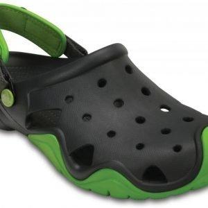 Crocs Sandaalit Miehille Vihreä Swiftwater