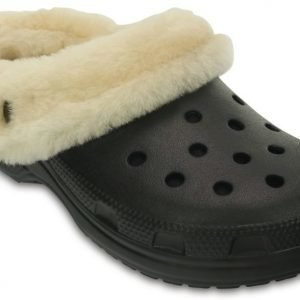 Crocs Sandaalit Musta Classic Mammoth Luxe Shearling Lined