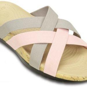 Crocs Sandaalit Naisille Harmaa Edie Stretch