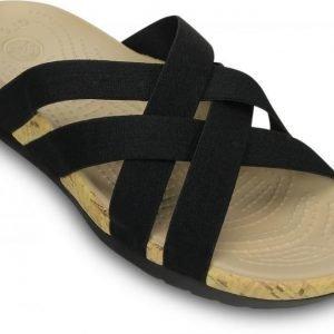 Crocs Sandaalit Naisille Musta Edie Stretch