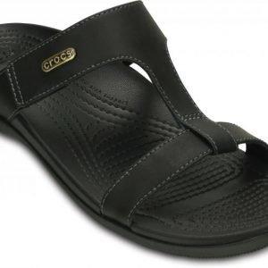 Crocs Sandaalit Naisille Musta Ella ComfortPath
