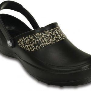Crocs Sandaalit Naisille Musta Mercy Work