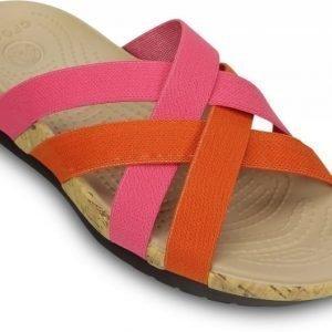 Crocs Sandaalit Naisille Pinkki Edie Stretch