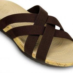 Crocs Sandaalit Naisille Ruskea Edie Stretch