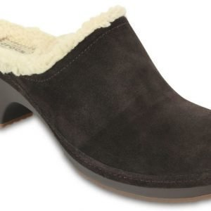 Crocs Sandaalit Naisille Ruskea Sarah Fuzz Lined