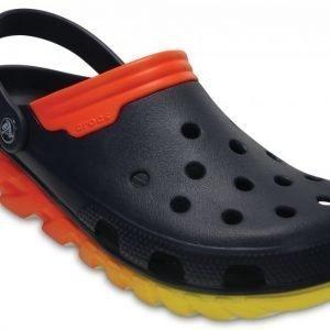 Crocs Sandaalit Navy/Orange Duet Max Ombre s