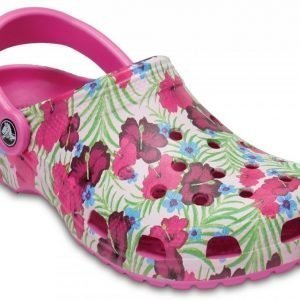 Crocs Sandaalit Pinkki Classic Graphic