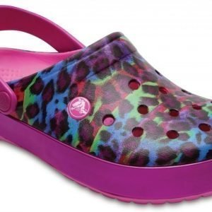 Crocs Sandaalit Pinkki Crocband Animal II