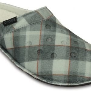 Crocs Slipper Musta Classic Plaid Slipper