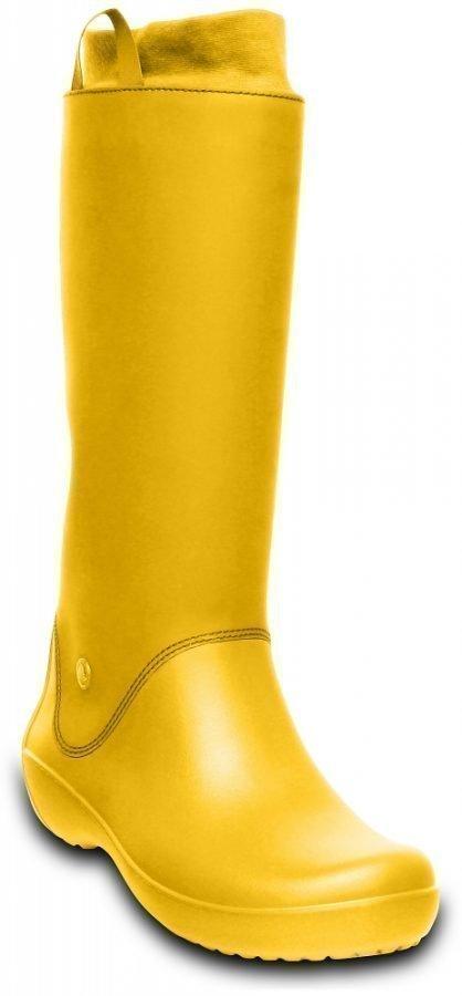Crocs Varrelliset Naisille Keltainen RainFloe