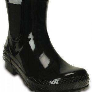 Crocs Varrelliset Naisille Musta Chelsea Rain