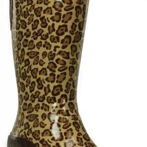 Crocs Varrelliset Naisille Ruskea Leopard Tall Rain