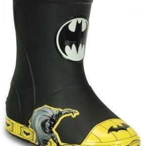 Crocs Varrelliset Pojille Musta Bump It Batman Rain