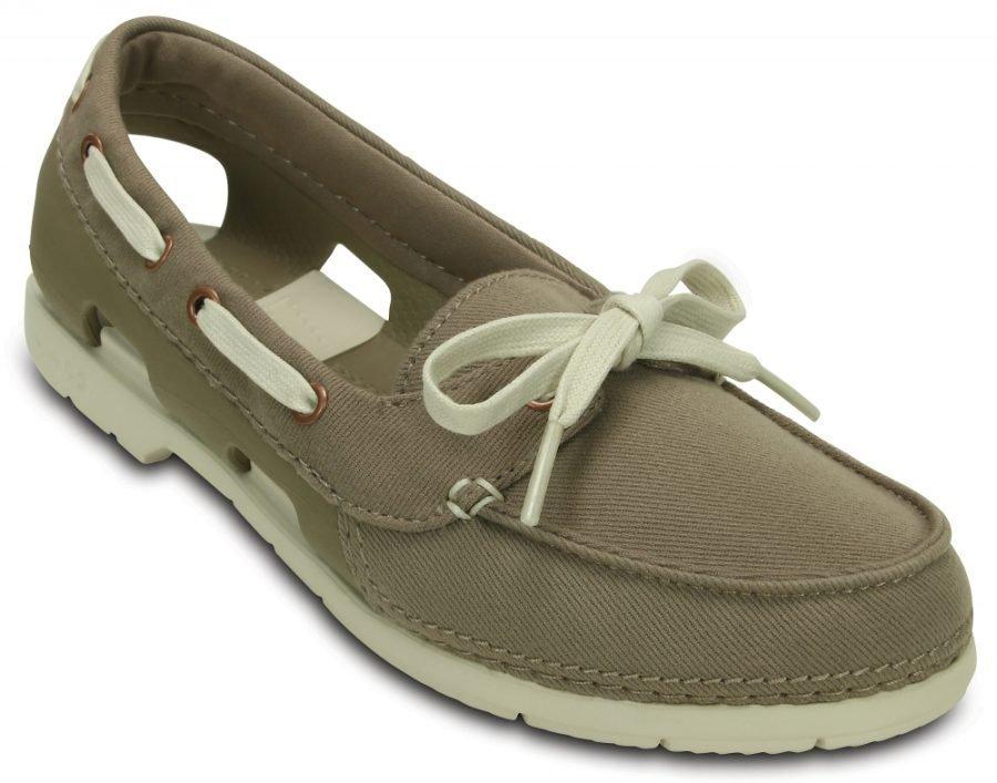 Crocs Vene Kengät Naisille Ruskea Beach Line Hybrid Boat Shoe