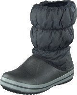 Crocs Winter Puff Boot Kids Black-Charcoal