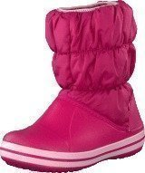 Crocs Winter Puff Boot Kids Fuchsia-Bubblegum
