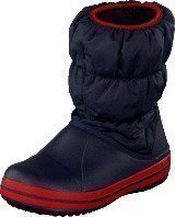 Crocs Winter Puff Boot Kids Navy-Red