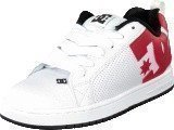Dc Shoes Court Graffik Shoe White/Redblack