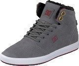 Dc Shoes Crisis High Wnt B Shoe Grey/Dark Red