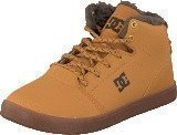Dc Shoes Crisis High Wnt B Shoe Wheat/Dk Chocolate