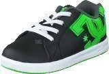 Dc Shoes Dc Court Graffik Elastic Black/Green/White
