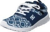 Dc Shoes Dc Heathrow Se J Shoe Blue Prt